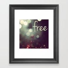 free II Framed Art Print
