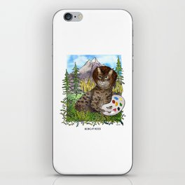 Bobcat Ross iPhone Skin