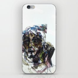 Hiding From Cops and Cages iPhone Skin
