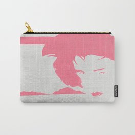 hONORING NAGEL IN red Carry-All Pouch