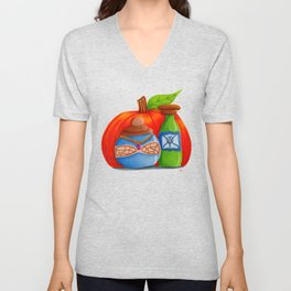 Pumpkin and Potions Unisex V-Neck