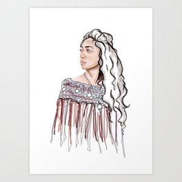 Hine Art Print
