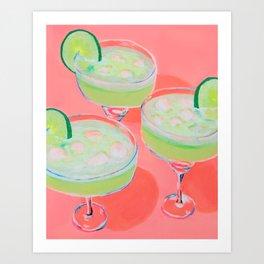 Tres Margaritas Art Print
