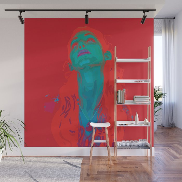 I Sea Red Wall Mural