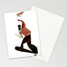 kamikaze kite Stationery Cards