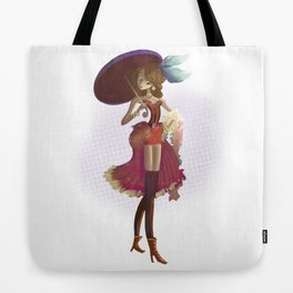 Pin up Tote Bag