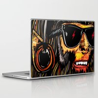 teen titans Laptop & iPad Skins featuring Teen Wolf by Vasco Vicente