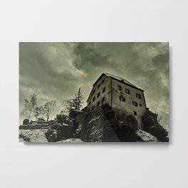 Castle Hartenstein Metal Print