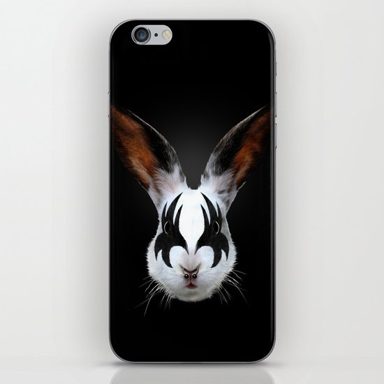 Kiss of a Rabbit iPhone & iPod Skin