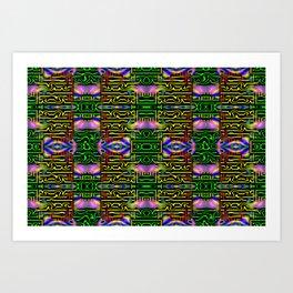Colorandblack series 1209 Art Print