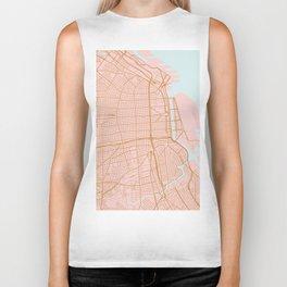 Buenos Aires map, Argentina Biker Tank
