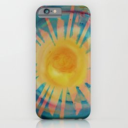 Jah Sun is on the Rise Again iPhone Case