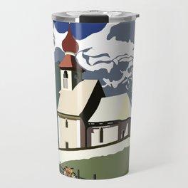Auer Church Austrian Picnic Travel Mug