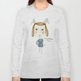 The Great Rabbit Pretender. Long Sleeve T-shirt