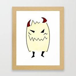 Everyone has a little demon inside Framed Art Print