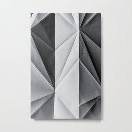 Folded Paper 1 Metal Print