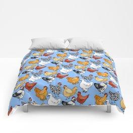 Chicken Skin Comforters