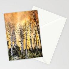 Orange Glow  Stationery Cards
