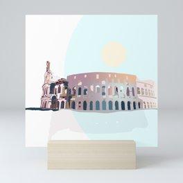 Colosseum Rome Mini Art Print