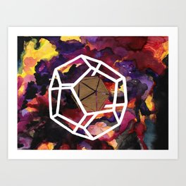 Fundamentals of Being: Dual 3 Art Print