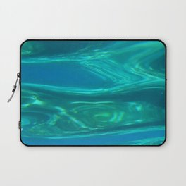 Below the surface - underwater picture - Water design Laptop Sleeve