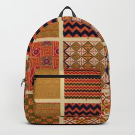 Egyptian Patterns Backpack