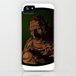 Gnarl iPhone Case