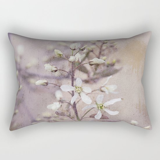 Vintage Spring flowers Rectangular Pillow