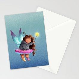 the lazy fairy godmother Stationery Cards
