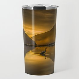 Kotuku sunset Travel Mug
