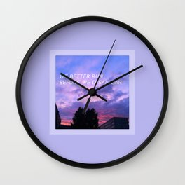 Aesthetic Wall Clock