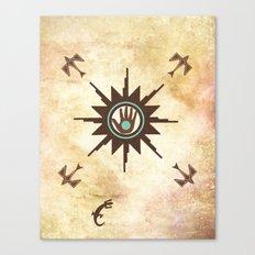 Healing Sun Canvas Print