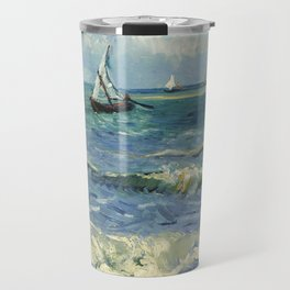 Van Gogh Seascape Travel Mug
