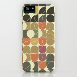Abstract Geometric Artwork 08 iPhone Case