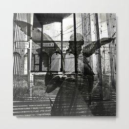 The unexpected arrival of the angels Metal Print