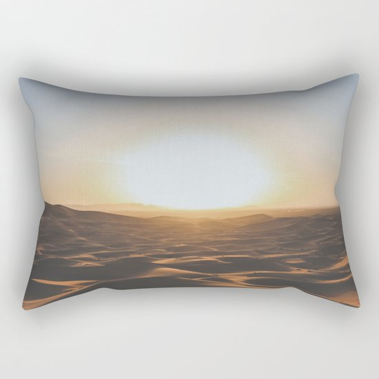 Merzouga, Morocco Rectangular Pillow