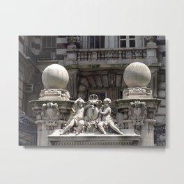 Space Shuttle Enterprise, Intrepid Flight Deck, New York City, USA Metal Print