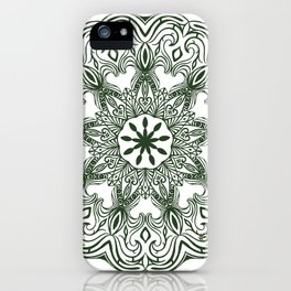 Garden Mandala iPhone Case