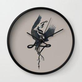 Anxiety (Black Variant) Wall Clock