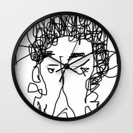 Nobody Particular Wall Clock