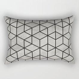 Random Concrete Cubes Rectangular Pillow