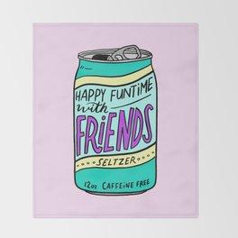 HFTWF Seltzer Throw Blanket