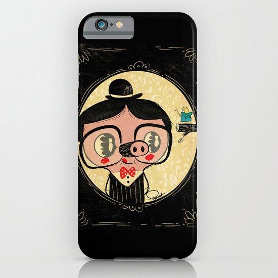 PIGnocchio and the blue fairy / pinocchio pig iPhone & iPod Case