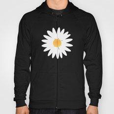 Daisy black pattern Hoody
