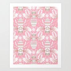 Beats n Bees Art Print