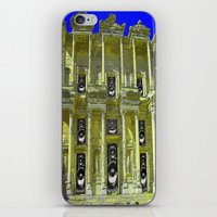 old school iPhone & iPod Skins featuring Old School by Nicholas Bremner - Autotelic Art