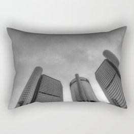 Renaissance Center  Rectangular Pillow