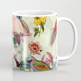 Floral and Birds VIII Coffee Mug