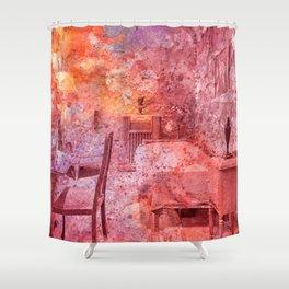 Al Capone's Vibrant Acrylic Cell Shower Curtain