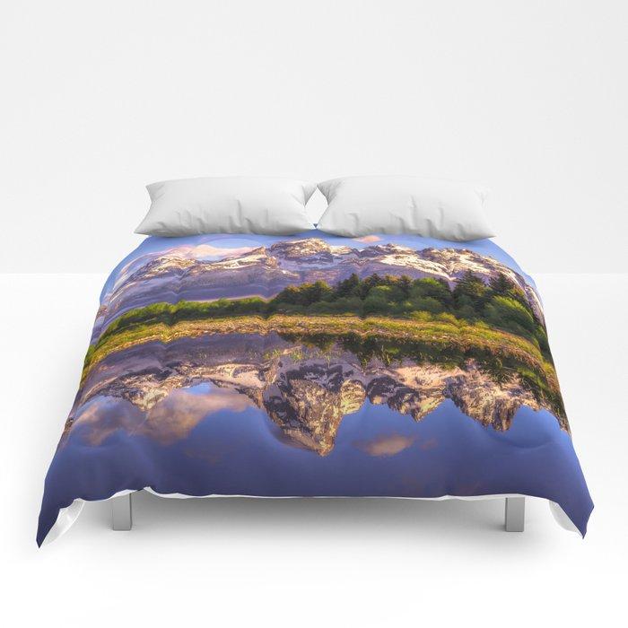 Grand Teton National Park Comforters